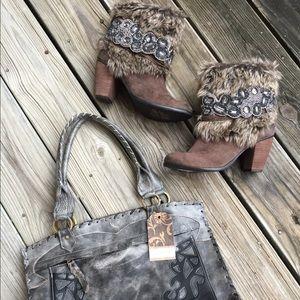 NIB Naughty Monkey Furr Boot!!